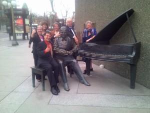 With Oscar in Ottawa!