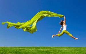 Jumping into Joy!