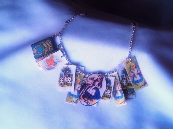 Alice in Wonderland Charm Bracelet full