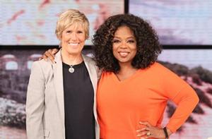 Diana Nyad and Oprah